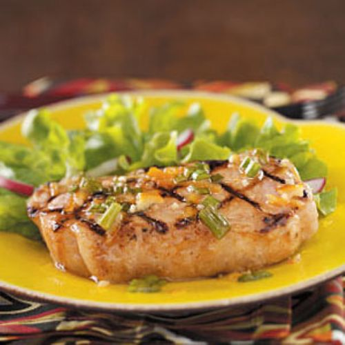Cajun Orange Pork Chops
