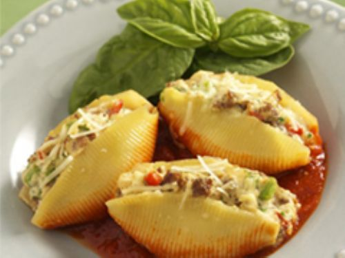 Sausage Stuffed Pasta Shells