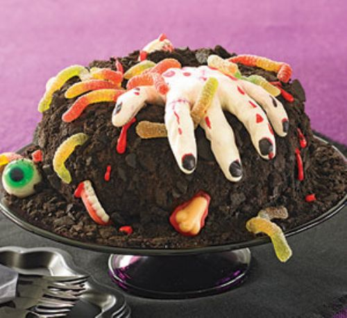 Creepy Creature Cake