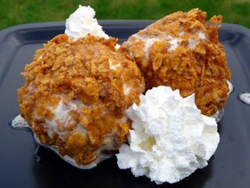 Faux Fried Ice Cream