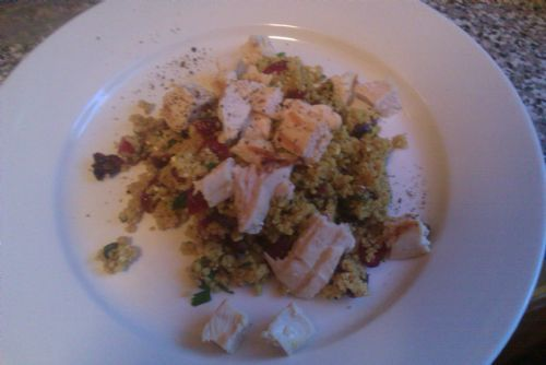Curry Couscous Salad