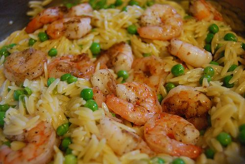 Peter's Shrimp Skillet