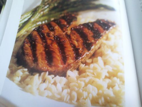 Grilled Honey Balsamic Salmon