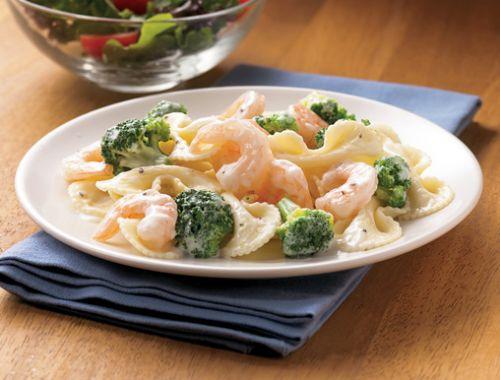 Shrimp Amp Broccoli Alfredo Recipe