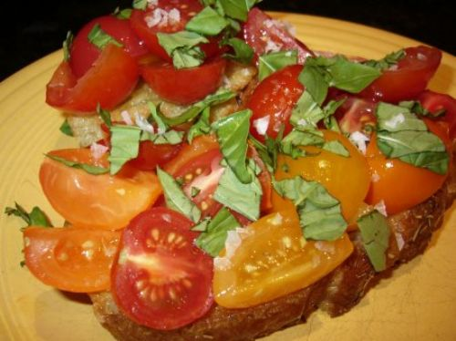 Bruschetta alla Julie and Julia