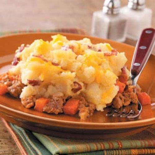 Potato-Topped Chicken Casserole