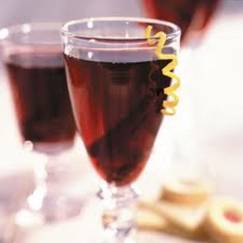 Wine-Cranberry Punch