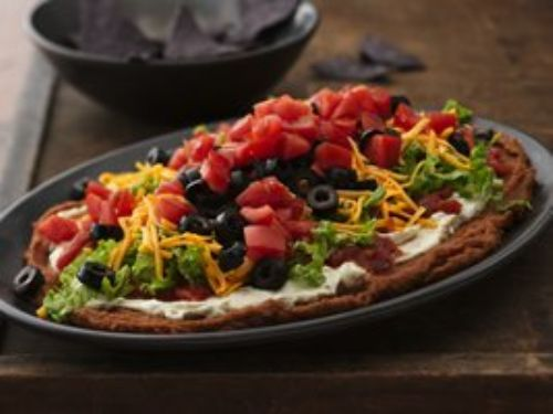 SEVEN LAYER-BEAN DIP