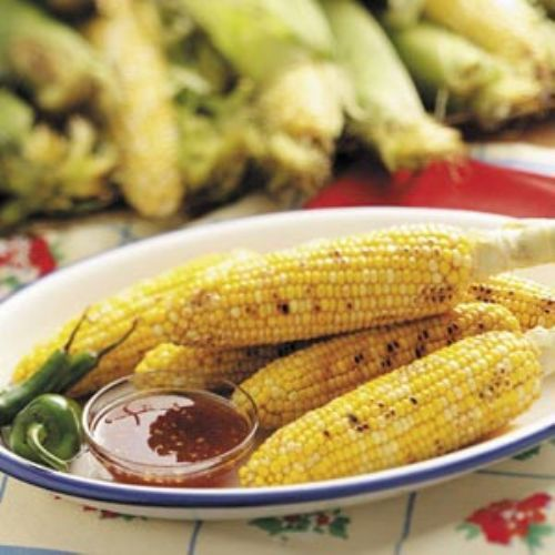 SMOKEY GRILLED CORN