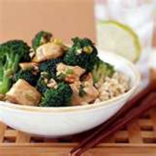 Chicken Teriayaki with Broccoli