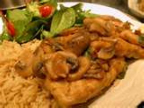 Balsamic Chicken with Mushrooms