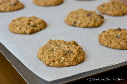 Vanishing Oatmeal Raisin Cookie