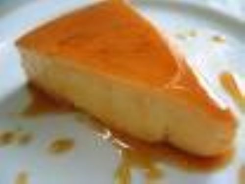 Flan de Queso (Cheese Custard)