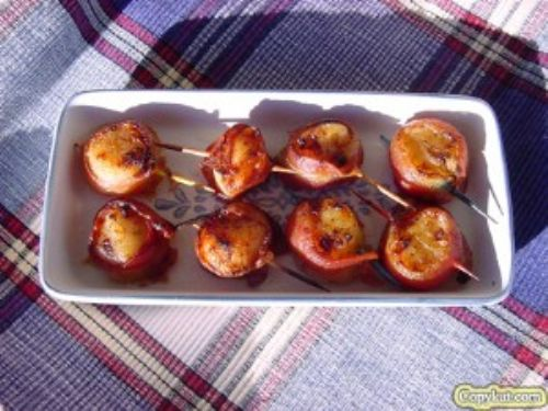 Red Lobster Bacon Wrapped Sea Scallops