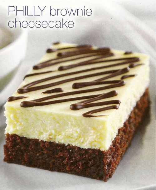 PHILLY Brownie Cheesecake Recipe