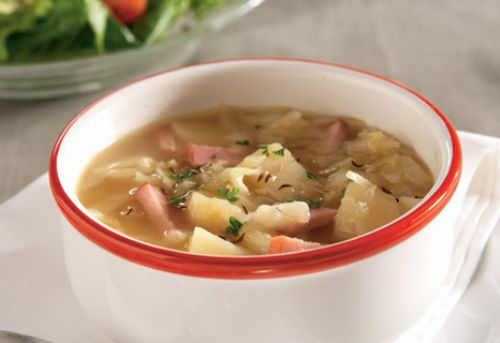 Ham, Potato & Cabbage Soup