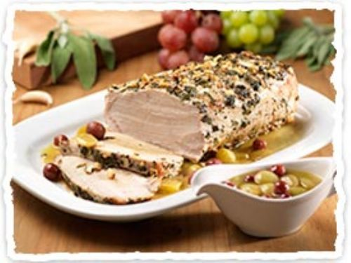 Olive Garden's Roast Pork Loin with Grapes & Wine
