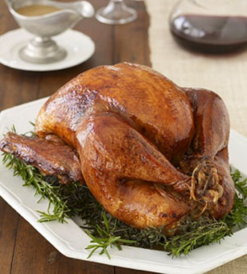 Mahogany Roast Turkey