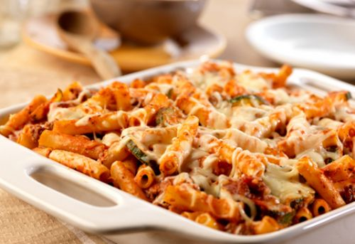 Three Cheese Mostaccioli Bolognese Recipe