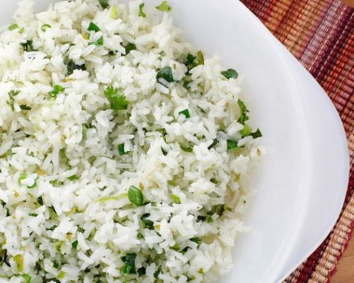 Sweet Cilantro Rice