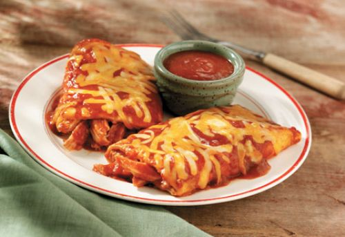 Cheesy Chicken Enchilada Grande