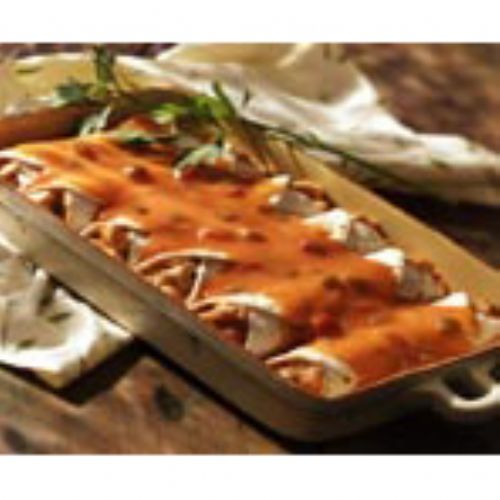 Speedy Chicken Enchiladas