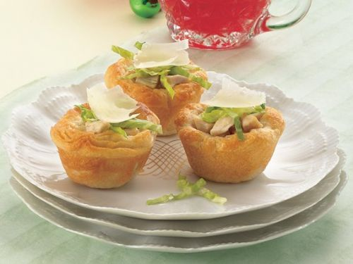 Mini Chicken Caesar Cups