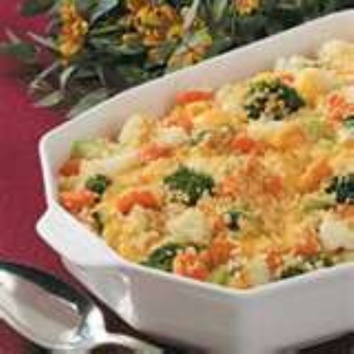 Cheesy Vegetable Casserole Recipe