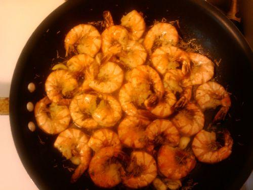Shrimp Mosca Recipe