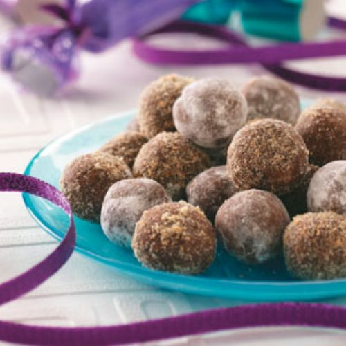 Rum Balls Recipe — Dishmaps