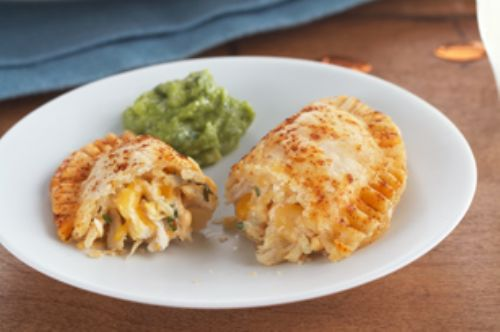 Cheesy Chicken Empanada