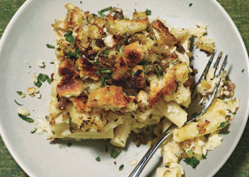Mac And Cheese With Sourdough Breadcrumbs