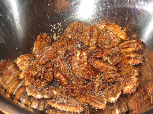 Honey-Chiptole Pecans