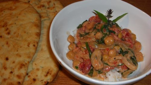 wjjjww coconut chickpea curry
