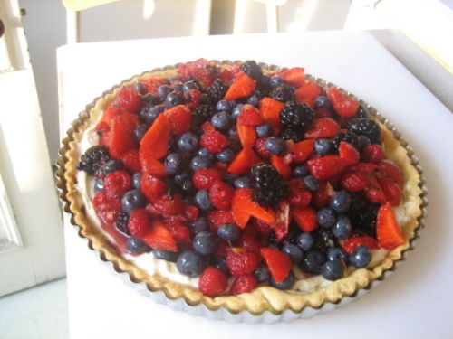 Very berry tarts