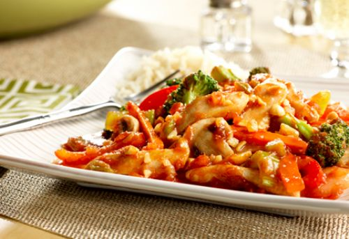 Picante Peanut Chicken