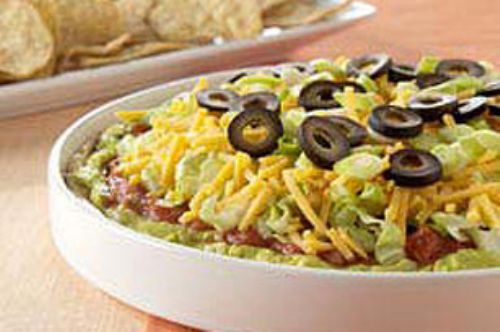 Nine layer dip
