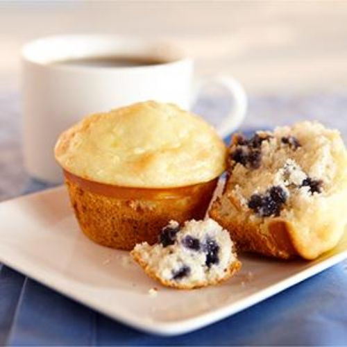 Blueberry Cheese Danish Muffins