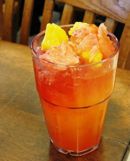 Tropical Sunrise Drink