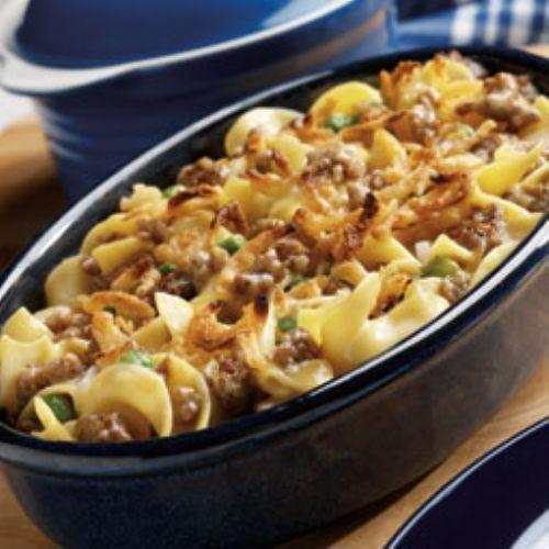 Sausage Amp Noodle Casserole Recipe
