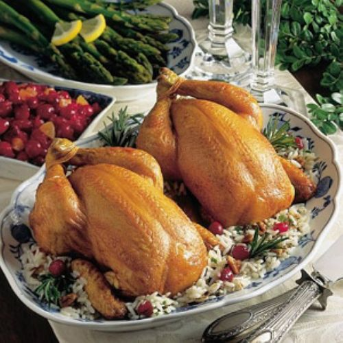 Cornish Hens Italiano Recipe