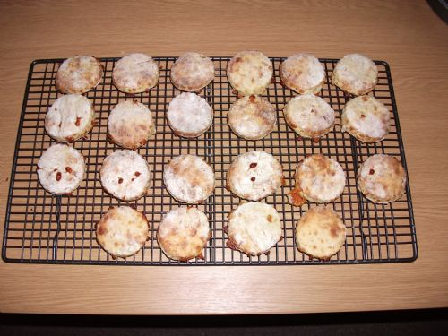 Low Fat Cheese Scones
