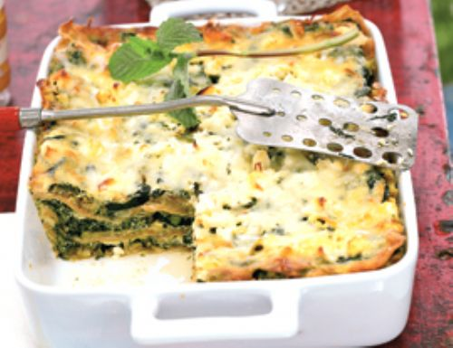 Three-Cheese Zucchini Lasagna Recipe