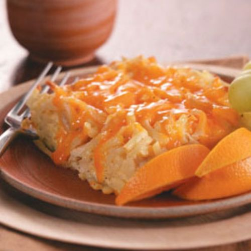 Hash Brown Breakfast Casserole with Chicken