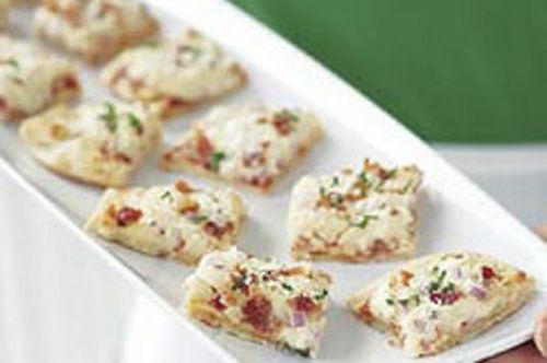 Easy Dressed Up Pizza Bites