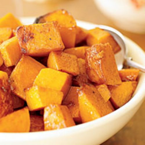 Maple-Roasted Squash