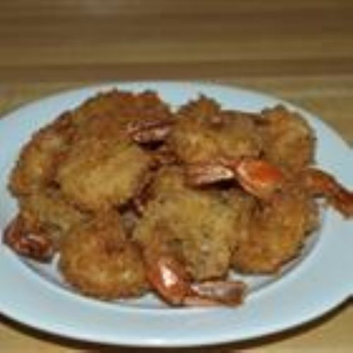 Japanese style deep fried shrimp