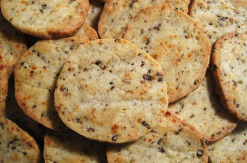 Parmesan Black Pepper Crackers