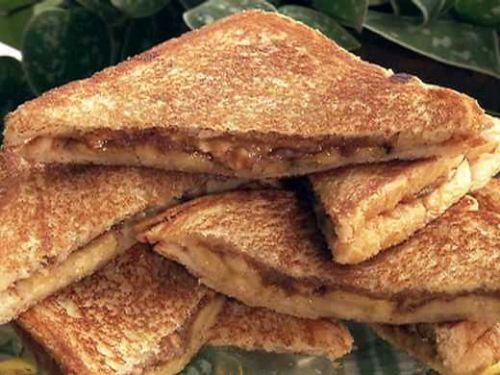 grilled peanutbutter and jelly