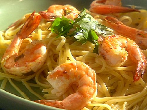 Linguini with Shrimp